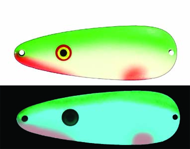 Moonshine Premium fishing lures - Hot Lips made in Michigan