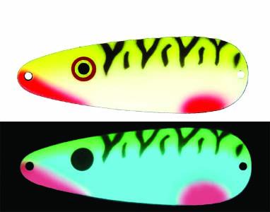 Moonshine Premium fishing lures - Yeller Feller made in Michigan